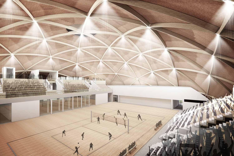«Dom» im Sportzentrum Löhrenacker